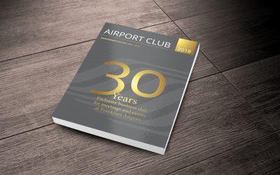 Airport Club Magazine – Anniversary-issue