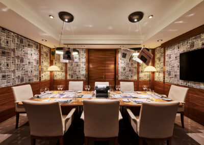 Airport Club Private Dining Impressionen 1