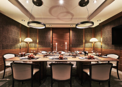 Airport Club Private Dining Impressionen 6